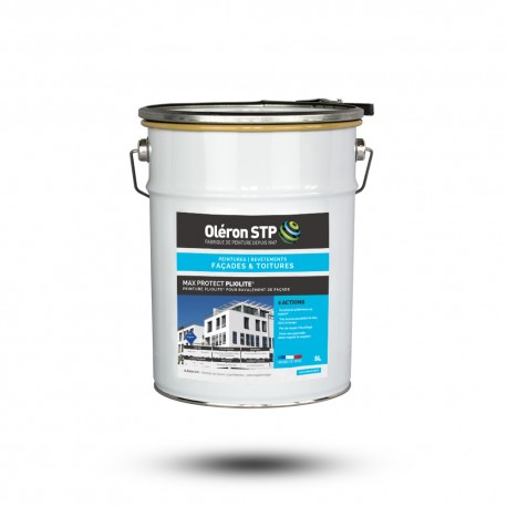 Peinture pliolite pour ravalement de façade - MAX PROTECT PLIOLITE