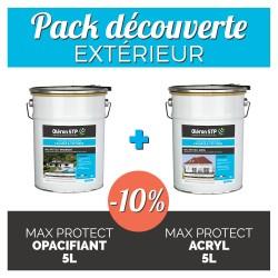 Pack découverte- intérieur - Impression opacifiante + peinture acrylique 5L