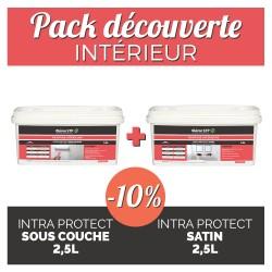 Pack découverte- intérieur - sous couche + peinture satin 2,5L