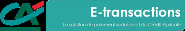 E-transaction Crédit Agricole logo