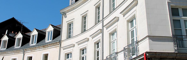 peinture pour bâtiment façade extérieure
