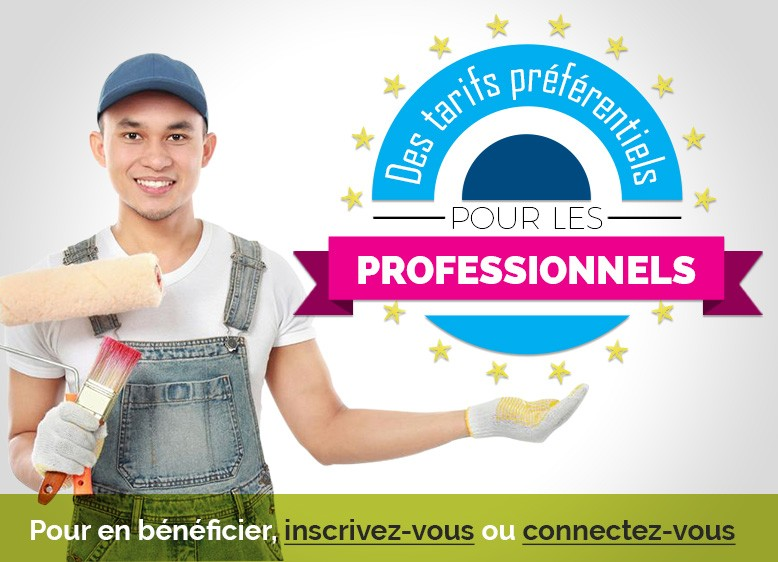 Promotions pour professionnels
